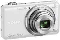 Sony CyberShot DSC-WX80 bílý + 8GB Class 10 + originální pouzdro + náhradní akumulátor!