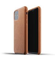 Mujjo kožené pouzdro pro iPhone 11