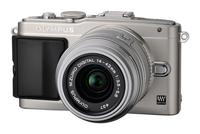 Olympus PEN E-PL5 + 14-42 mm II R stříbrný + 8GB karta + brašna TLZ 10 + poutko na ruku!