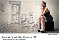 FomeiJet Portrait Matt Warmtone 230 A4/5 testovací balení