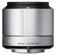 Sigma 60mm f/2,8 DN Art pro micro 4/3 stříbrný