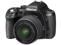 Pentax K-500 + 18-55 mm + 50-200 mm černý
