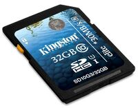 Kingston SDHC 32GB 30MB/s Class 10