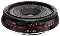 Pentax HD DA 40mm f/2,8 Limited černý
