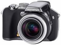 Olympus SP-550 šedý ULTRA ZOOM + xD karta 512MB!