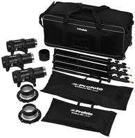 Profoto D1 studio kit 250/500/500 Air