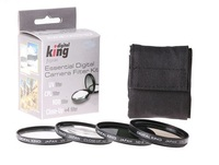 Digital King set filtrů UV + CPL + ND8 + makropředsádka 46mm