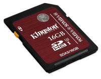 Kingston SDHC 16GB UHS-I Speed Class 3