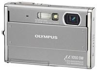 Olympus Mju 1050 SW stříbrný
