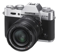 Fujifilm X-T10 + 18-55 mm stříbrný + 32GB karta + brašna Oslo 14Z + ochrana LCD!