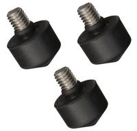 Gitzo gumové koncovky D0609.01 pro 1.-4. serii 3ks