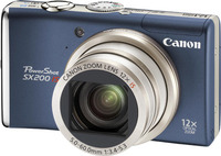 Canon PowerShot SX200 IS modrý