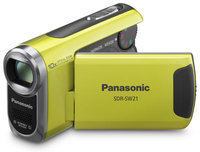 Panasonic SDR-SW21 zelená + 8GB karta zdarma!