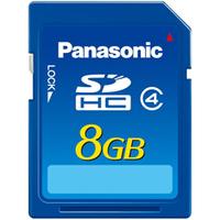 Panasonic SDHC 8 GB Class 4