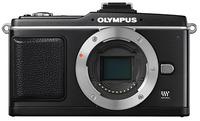Olympus E-P2 černý tělo + hledáček VF-2