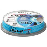 Sony DVD+R 4,7GB 10ks