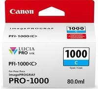 Canon Cartridge PFI-1000 C tyrkysová