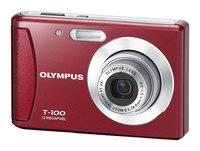 Olympus T-100 červený