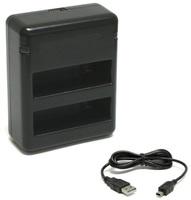 NICEBOY duální nabíječka pro baterie GoPro HERO 4