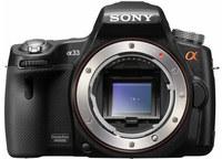 Sony Alpha A33 tělo