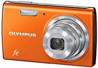 Olympus FE-5040 oranžový
