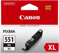 Canon Cartridge CLI-551BK XL