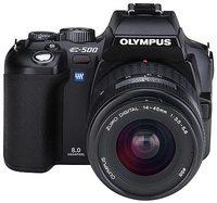 Olympus E-system E-500 Kit + extra akumulátor HLM-1 zdarma!