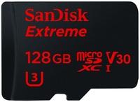 SanDisk Micro SDXC 128GB Extreme 90 MB/s Class 10 UHS-I + Adaptér