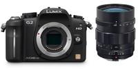 Panasonic Lumix DMC-G2 černý + Nokton 25 mm F 0.95!