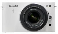 Nikon 1 J1 bílý + 10-30 mm + 10 mm