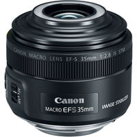 Canon EF-S 35 mm f/2,8 Macro IS STM s LED světlem