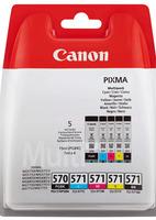 Canon Cartridge PGI-570PGBK + CLI-571 C/M/Y/BK - MULTI