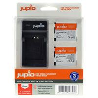 Jupio Kit 2x NB-11L + USB Single Charger pro Canon