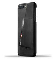 Mujjo kožené peněženkové pouzdro (celotělové) pro iPhone 8 Plus/7 Plus