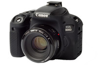 EasyCover silikonové pouzdro pro Canon EOS 800D černé