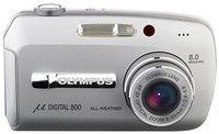 Olympus Mju 800 Digital stříbrný