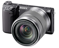 Sony NEX-5R + 18-55 mm + 55-210 mm černý