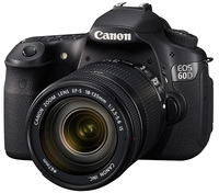 Canon EOS 60D + 18-135 mm IS + 40 mm STM