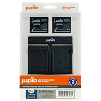 Jupio Kit 2x PS-BLS-5-50 + USB Dual Charger pro Olympus
