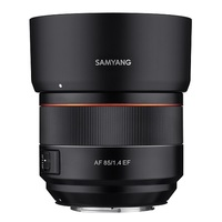 Samyang AF 85mm f/1,4 pro Canon EF