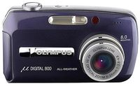 Olympus Mju 800 Digital modrý