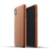 Mujjo kožené pouzdro (celotělové) pro iPhone XS Max