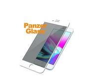 PanzerGlass tvrzené sklo Premium pro iPhone 8/7/6s/6 Plus bílé