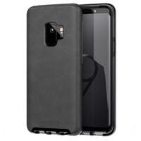 Tech21 pouzdro Evo Luxe pro Samsung Galaxy S9 kožené černé