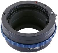 Novoflex adaptér z Sony Alpha/Minolta AF na Nikon 1