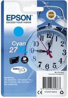 Epson Singlepack T27124012 Cyan 27 XL DURABrite - azurová