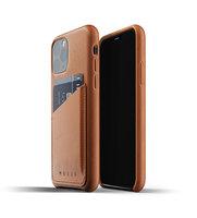 Mujjo kožené peněženkové pouzdro pro iPhone 11 Pro