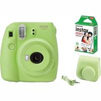 Fujifilm Instax mini 9 zelený film case kit
