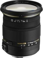 Sigma 17-50mm f/2,8 EX DC OS HSM pro Sigma