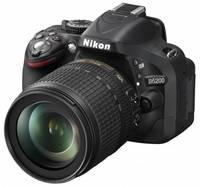 Nikon D5200 + 18-105 VR + akumulátor + mikrofon VideoMic GO + video rukojet!